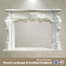 Fire Surrounds,Marble Fire Surrounds,Fire Mantel VFM-NE006 C
