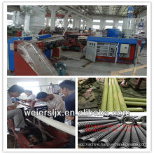 110mm double wall corrugated pipe making machine
