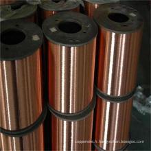 Fil d'acier plaqué de cuivre d'acier inoxydable de 0.10mm-4.0mm