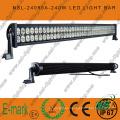 ¡Caliente! ! Barra de luz LED todoterreno de 80 piezas * 3W, barra de luz LED Epsitar de 3W, barra de luz LED de 42 pulgadas