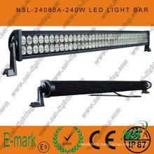 42 '' 240W LED barre d'éclairage Combo de spot d'inondation de bateau de SUV 4WD