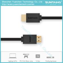 Cable HDMI de alta velocidad macho a macho 1080P 2.0V para HDTV