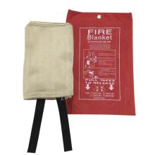 Couverture anti-feu de fibre de verre / fibre de verre