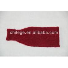 bandeaux tricotés de cachemire de mode