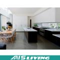 Meubles de système de glissière de tiroir de Cabinet de grain de bois de conception moderne (AIS-K056)
