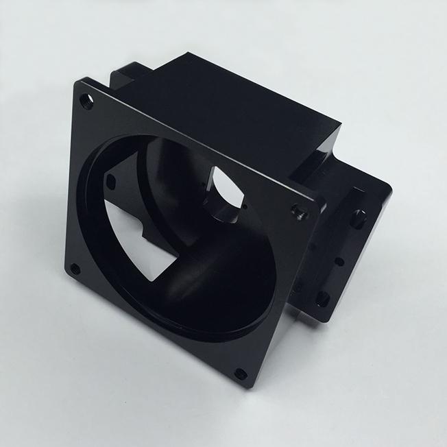 custom aluminum motor flange parts