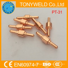 PT31 copper plasma cutting electrode