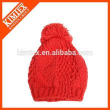 Bonnet en tricot croché 2014