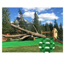 Green Rubber Outdoor Landscaping Mats with Holes