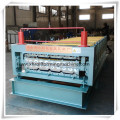 2015 Chinese Latest Style Double Layer Metal Roof Tile Making Roll Forming Machine