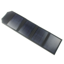 Universal 14 watts Folding Solar Charger with Dual USB Ports, Ultra-slim Panels & Carrying Strap- Quickly Charges Smartphones