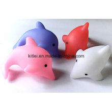 Soft Coastal Dolphin Pet Kids Plastic Rotocast Animal Figure Toys