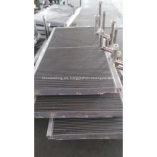 Radiadores de aluminio para motor de locomotora