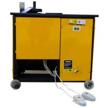 Máquina plegable de banda de acero