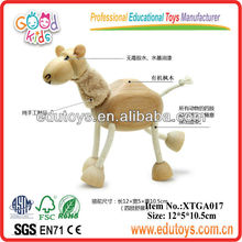 Cheap China Toys Wooden Camel Toys