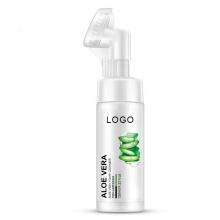 Private Label Organic Aloe Face Wash Foam Moisturizing
