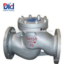 Water Pressure V Gate 5 Fitting Back Pneumatic Function Cast Steel Lift Type Check Valve Vertical