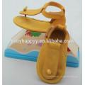 Кожаные мягкие детские туфли для девочки