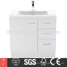 2015 venta caliente hangzhou mdf baño vanidades
