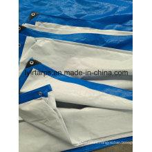 Blue/White PE Tarpaulin Sheet, Tarpolin Cover