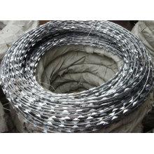 low carbon steel concertina razor barbed wire