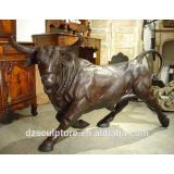 New products decorative metal casting bronze bison sculpture