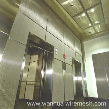 Curtain wall decoration wire mesh