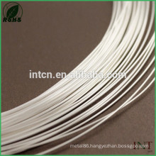 Jewelry Findings wire high purity AWG11 pure silver wire