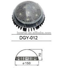 Aluminio rgb LED Fuente de luz de endoscopia de punto para jardín 9w 150mm