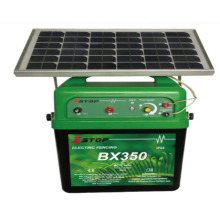 solar electronic fence controller