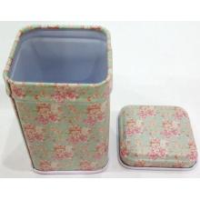 Food grade pill Metal Tin Box