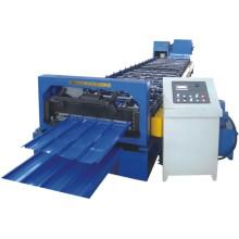 Máquina de formação de rolo de telhado de metal portátil