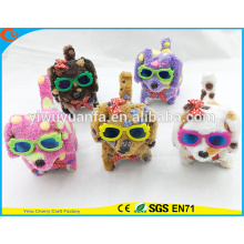 High Quality Various Design Walking Barking Electric Stuffed Puppies With Glasses