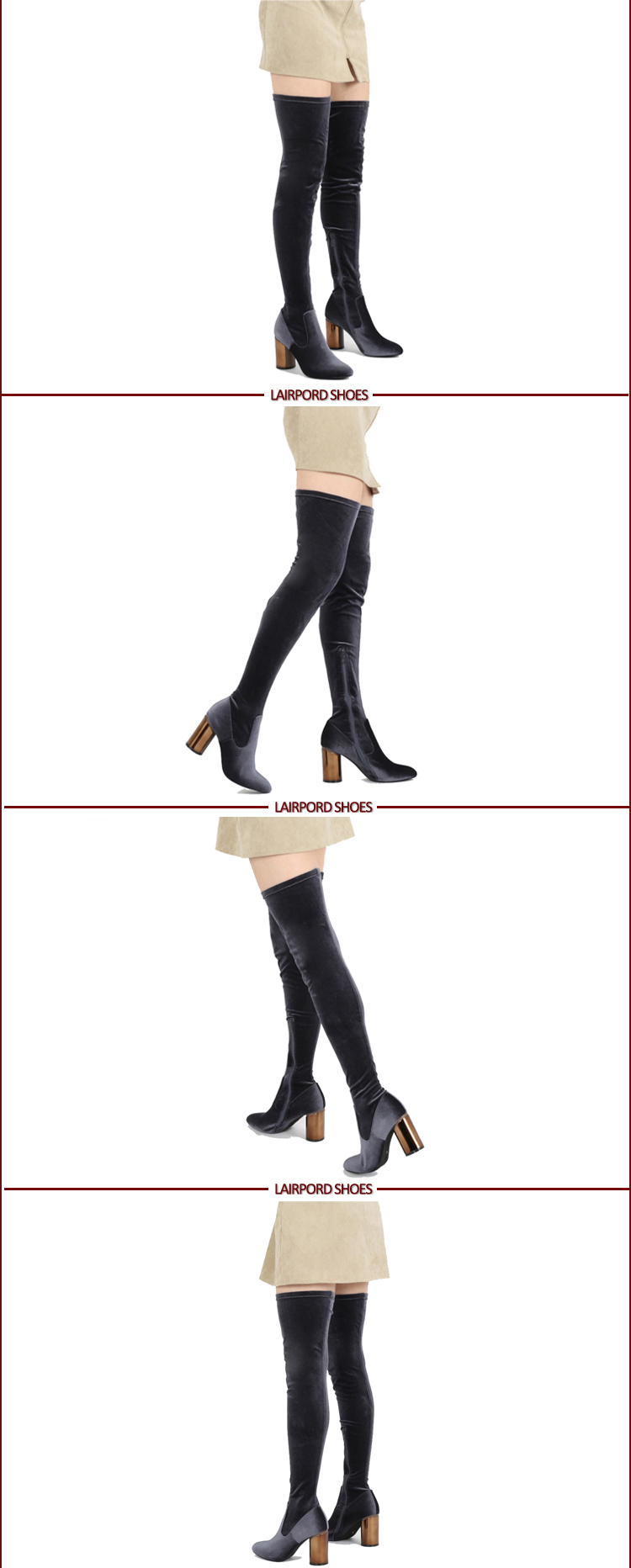 over knee winter boots
