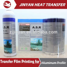 heat transfer pet film for stainless steel