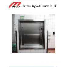 High Safety Dumbwaiter Elevator with Stainless Steel Cabin