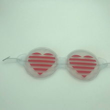 Heart PVC Sleep Heating PVC Eye Mask