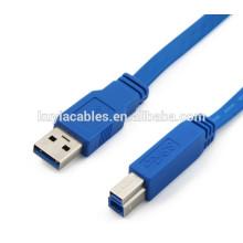 Multifunktions-USB 3.0 Ein Stecker auf B männlich Drucker Scanner Kabel 1,5m / 3ft
