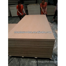 5.2mm 17mm red oak veneer fancy MDF
