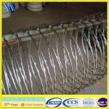Acier en acier galvanisé à barbelé (XA-GW007)