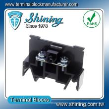 Cualquier montaje de polos Cilindro DIN 400 Amp Bloque de terminales de tornillo eléctrico