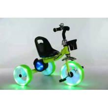 Triciclo de niños con ruedas de luz y música