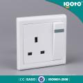 E9013 Interruptores de pared y zócalo de alta calidad estándar del Reino Unido 1390