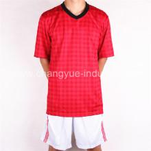 nueva camiseta de fútbol con forma seca y función respirable