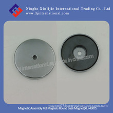Magnetic Assembly Pot Magnets Round Base Magnet (XLJ-4307)