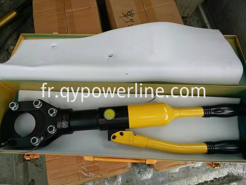 Manual Hydraulic Wire Rope Cutter 50mm