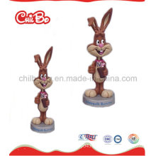 Smile Face Rabbit Plastic Toy (CB-PM019-S)