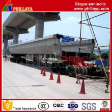 4 + 6 (5 + 5 disponible) Remorque modulaire Transport de poutre de 250 tonnes / remorque de poutre