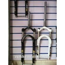 26 * 4 garfo para bicicletas de neve, forquilha de suspensão de bicicleta com 135 milímetros de peso, garfo Beach Cruiser