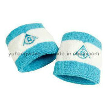 Customized Cotton Terry Sports Wristband / Headband